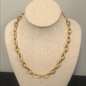 Stella & Dot oval link necklace